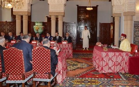 Conseil des ministres Maroc Mars 2014