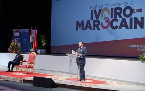 Discours roi MohammedVI a Abidjan fevrier 2014