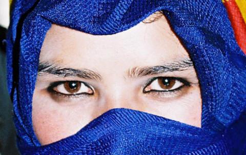 Jeune fille berbere maroc