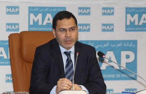 Mustapha el khalfi ministre com mars 2014