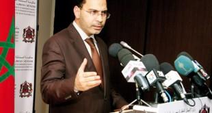 Mustapha El Khalfi Le code de la presse soumis au Parlement en avril