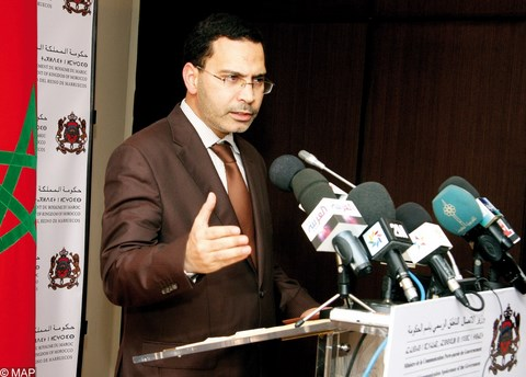 Mustapha khalfi ministre communication maroc