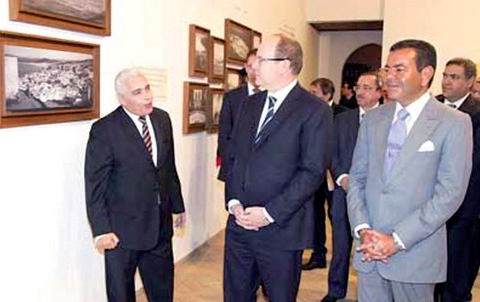 Prince Moulay Rachid maroc et prince Albert de Monaco