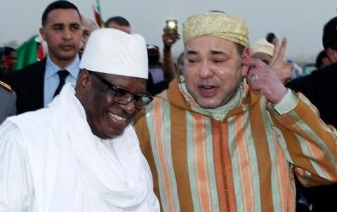 Roi du Maroc President du Mali 2014