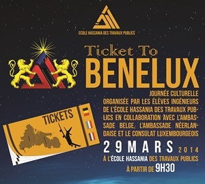 Ticket to benelux