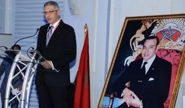 Bensalah president federation assurances maroc 2014