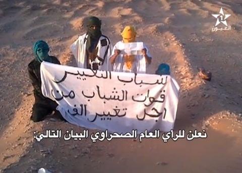 Camps tindouf Sahara