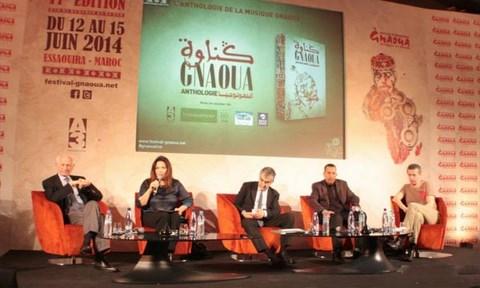 Conference de presse festival gnaoua avril 2014