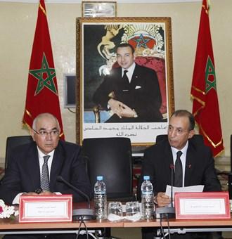 Drais et hassad ministres interieur maroc avril 2014