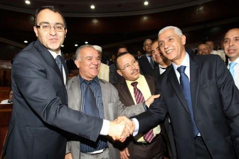 Karim ghellab rachid talbi alami parlement maroc avril 2014