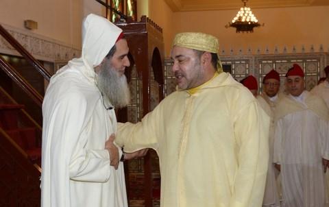 Roi MohammedVI et Fizazi imam salafiste