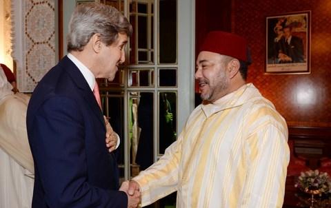 Roi du Maroc John Kerry