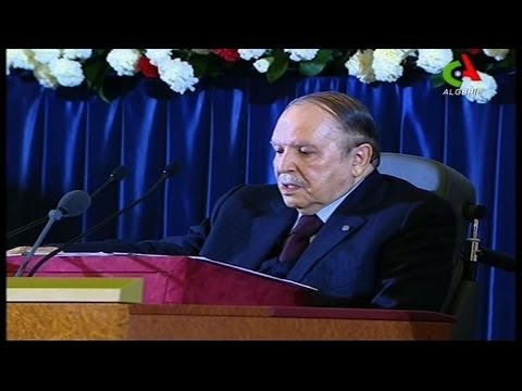 Bouteflika prete serment 2014