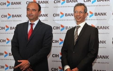 Cihbank DG Sekkat et PDG Rahhou mai 2014