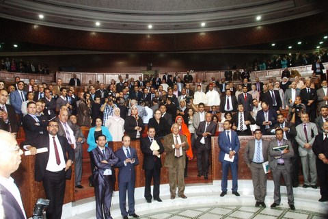 Parlement Commissions et groupes parlementaires