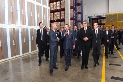 Zone logistique zenata visite royale mai 2014