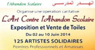 «Artistes Solidaires», contre l'abandon scolaire