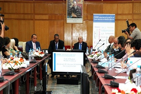 Conference mediateur bancaire maroc juin 2014
