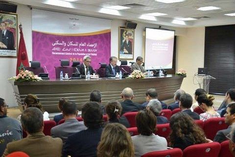 Conference recensement hcp rabat 2014