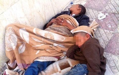 Enfants des rues le reporter maroc