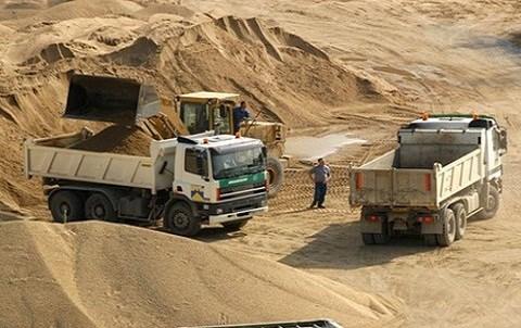 Exploitation des sables maroc