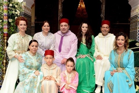 Famille royale maroc mariage du prince moulay rachid