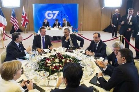 G7 reunion bruxelles juin 2014