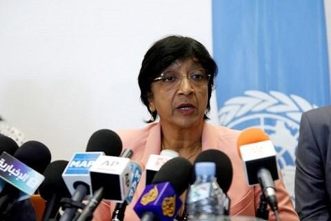 Navi pillay haut commissaire des nations unies aux droits de l homme