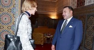 Bourse : La Lord-Maire de Londres reçue par le Roi du Maroc