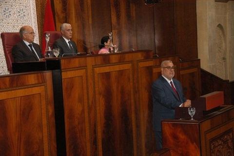 Benkirane presente bilan etape juillet 2014 parlement maroc