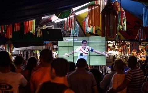 Foot mondial bresil 2014 spectateurs