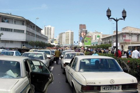 Grands taxis blancs casablanca