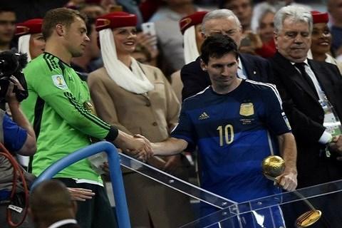 Messi meilleur joueur 2014
