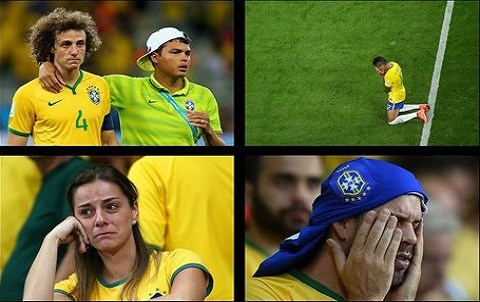 Mondial 2014 deroute bresilienne