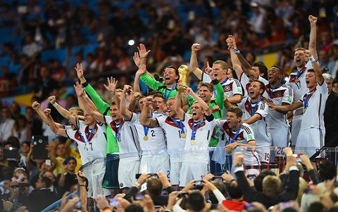 Mondial 2014 victoire allemagne