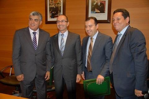 Partenariat tgr cdg notaires juillet 2014 maroc