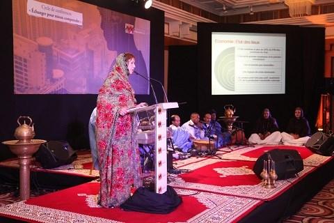 Conference culture economie sahara casablanca 2014