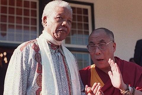 Dalai lama mandela