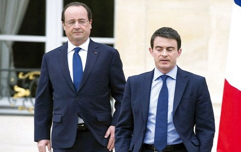 Hollande valls france
