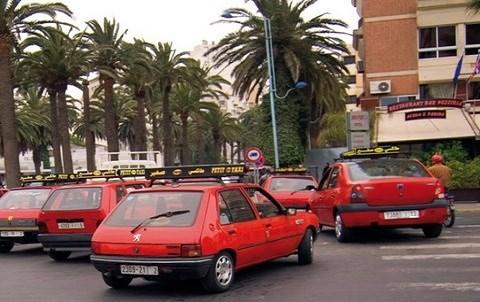 Taxis casablanca maroc