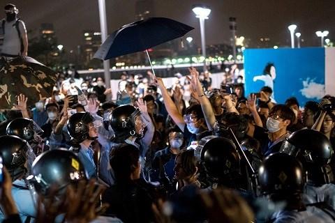 Manifestation hongkong octobre 2014