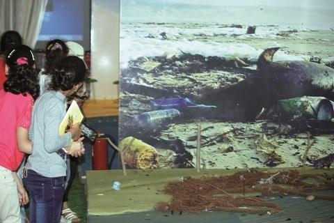 Mer polluee fondation maroc