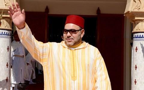Roi au parlement maroc