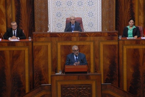 Benkirane au parlement novembre 2014