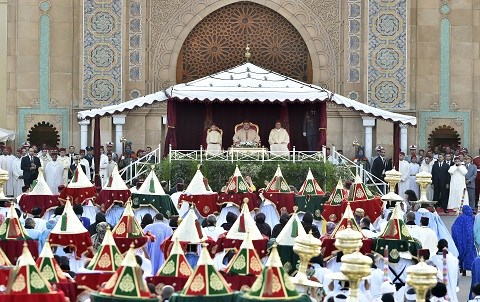 Ceremonie lahdiya mariage prince moulay rachid