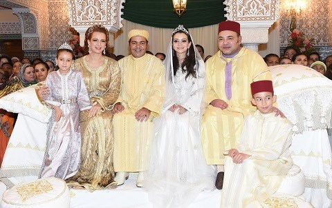 Famille royale maroc mariage prince moulay rachid 1