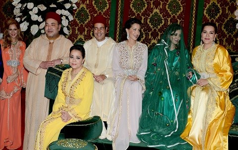 Famille royale maroc mariage prince moulay rachid 2