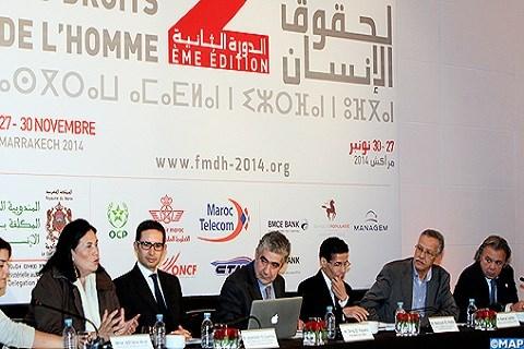Forum des droits de l homme Maroc Marrakech