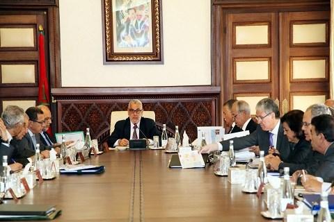 Gouvernement maroc 2014