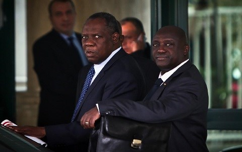 Issa hayatou caf 2014